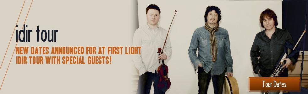 At First Light tour dates